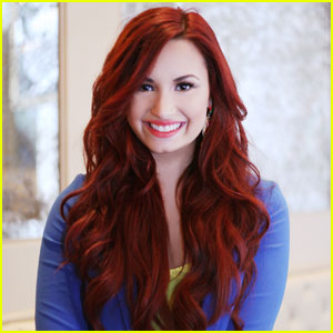 Demi Lovato - JustJared.com Exclusive Interview!