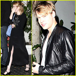 Emma Roberts &#038; Chord Overstreet: Birthday Party Pair