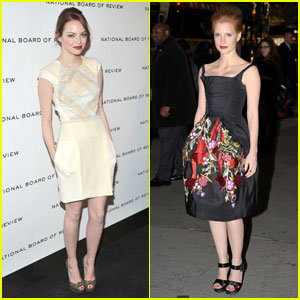 Emma Stone &#038; Jessica Chastain: NBR's Best Ensemble!