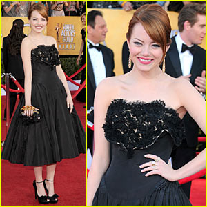Emma Stone - SAG Awards 2012 Red Carpet