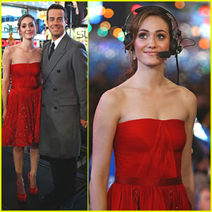 Emmy Rossum: New Year's Eve in Times Square!