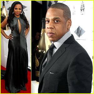 Jay-Z & Ashanti: 40/40 Club Reopening!