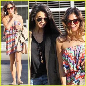 Jenna Dewan: Lunch with Emmanuelle Chriqui!