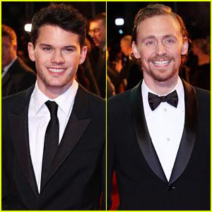 Jeremy Irvine & Tom Hiddleston: 'War Horse' UK Premiere!