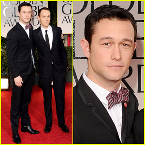 Joseph Gordon-Levitt - Golden Globes 2012 Red Carpet