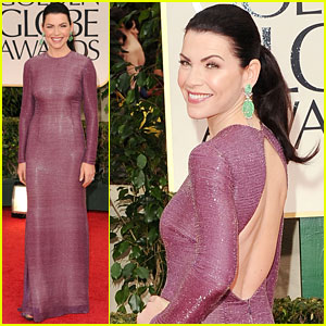Julianna Margulies - Golden Globes 2012 Red Carpet