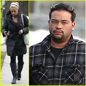 Kate Gosselin heads to the dentist's office on Thursday (January 26