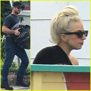 Lady Gaga & Taylor Kinney: Laundry Lovers!