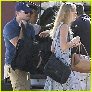 Leo DiCaprio & Erin Heatherton: Mexico Vacation!