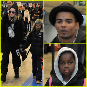 Madonna &#038; Kids: Bye Bye, Switzerland!