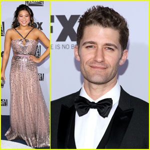 Matthew Morrison & Jenna Ushkowitz: FOX After Party!