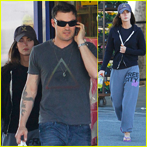 Megan Fox & Brian Austin Green: Rite Aid Run
