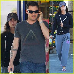 Megan Fox & Brian Austin Green: Rite Aid Run
