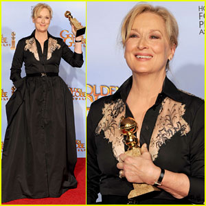 Meryl Streep - Golden Globes 2012 Winner