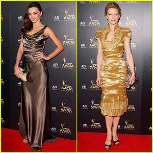 Miranda Kerr &#038; Cate Blanchett: 2012 AACTA Awards!