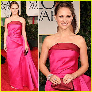 Natalie Portman - Golden Globes 2012 Red Carpet