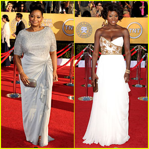 Octavia Spencer & Viola Davis - SAG Awards 2012