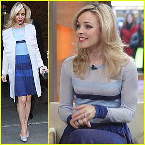 Rachel McAdams: Good Morning, America!