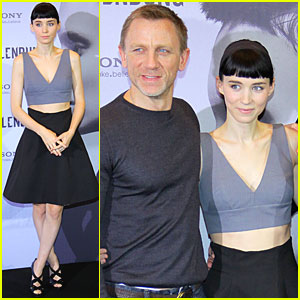 Daniel Craig &#038; Rooney Mara: 'Dragon Tattoo' in Berlin!