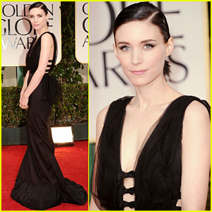 Rooney Mara - Golden Globes 2012 Red Carpet