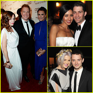 Rose McGowan & Matthew Morrison: Art of Elysium Gala!