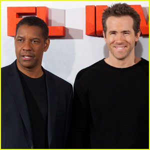 Denzel Washington: Ryan Reynolds Gave Me A Black Eye!