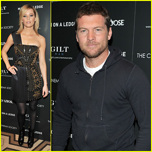 Sam Worthington & Elizabeth Banks: 'Man On A Ledge' Screening!