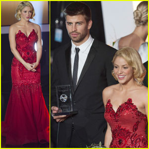 Shakira: FIFA Ballon d'Or Gala With Gerard Pique!