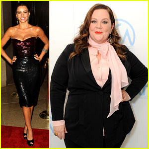 Sofia Vergara & Melissa McCarthy: Producers Guild Awards!