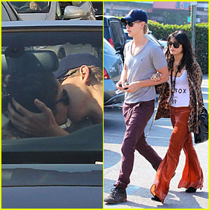 Vanessa Hudgens: Comme Ca with Austin Butler!