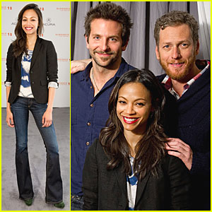 Zoe Saldana & Bradley Cooper: 'The Words' at Sundance!