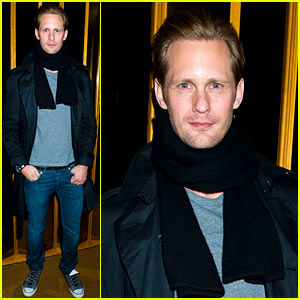 Alexander Skarsgard: DeLeon Party Guy!