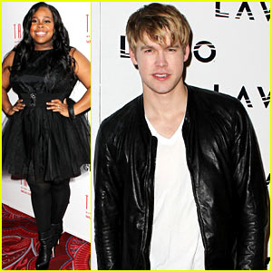 Amber Riley & Chord Overstreet: Las Vegas Birthdays!