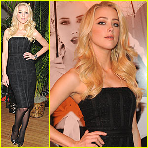 Amber Heard: Guess Summer Collection Preview!