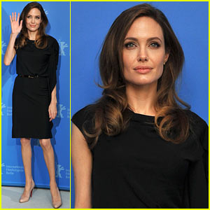 Angelina Jolie: 'Blood & Honey' Berlin Photo Call!