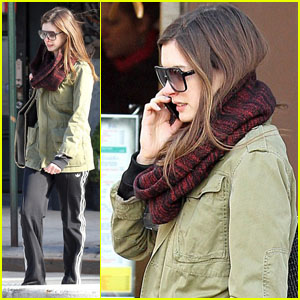 Anne Hathaway: Lunch at Blossom Du Jour