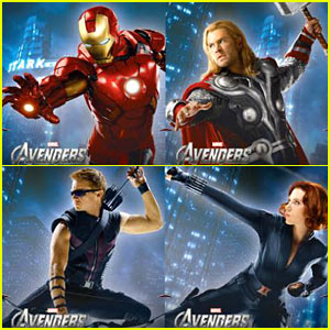 New 'Avengers' Character Poster!