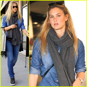 Bar Refaeli Jumps on a Trampoline!