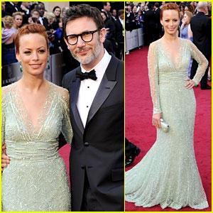 Berenice Bejo & Michel Hazanavicius - Oscars 2012