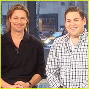 Brad Pitt: 'Today' Appearance with Jonah Hill!