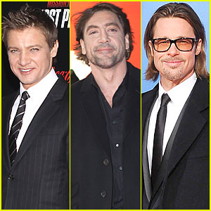 Brad Pitt, Javier Bardem, Jeremy Renner Up for 'Counselor' Villain Role