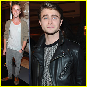 Daniel Radcliffe & Tom Felton: 'Woman In Black' L.A. Premiere!