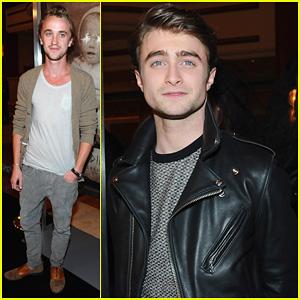 Daniel Radcliffe & Tom Felton: 'Woman In Black' L.A. Premiere!