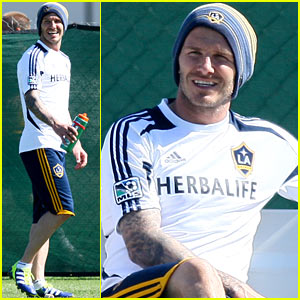 David Beckham: Game Time!