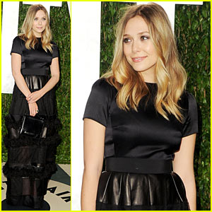 Elizabeth Olsen - Vanity Fair Oscar Party!