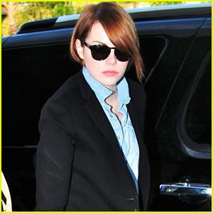 Emma Stone: LAX Liftoff
