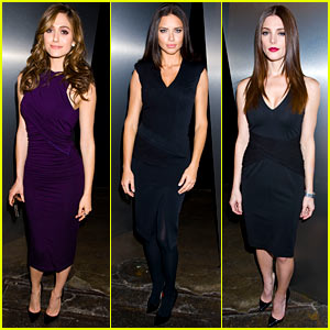 Emmy Rossum & Ashley Greene: Donna Karan Front Row!