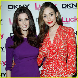 Emmy Rossum & Ashley Greene: 'Lucky' Ladies