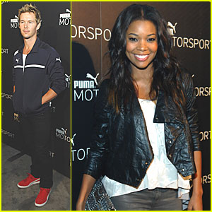 Gabrielle Union & Ryan Kwanten: Puma Motorsport in Vegas!