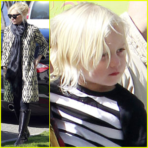 Gwen Stefani: Lunch with Zuma!
